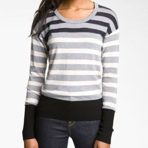 Marc by Marc Jacobs Sz S Yasmin Stripe Sweater
